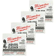Milwaukee M4910-10 Paint Sprayer (4 Pack) Airless Cleaning Powder # 039601001050-4pk
