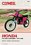 Honda 125-250cc Elsinores, 1973-1980, Clymer Publications Staff and Penton Staff, 0892871768