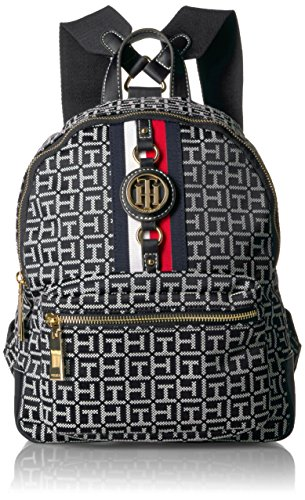 - Tommy Hilfiger Women's Backpack Jaden, Black/White