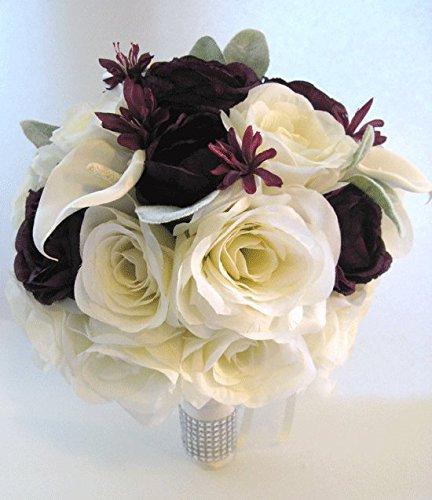 Plum Calla Lilies - 6