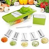 Lifewit 5 Blades Mandoline Slicer Straight Slicer,Vegetable...