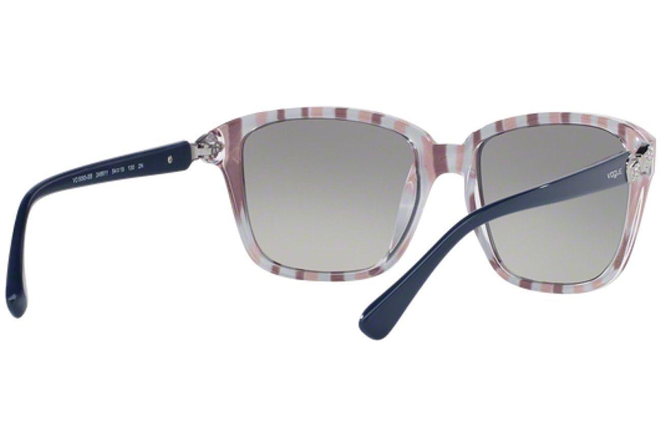 Vogue VO5093SB Sunglasses 246611-54 Topaz Blue//Serigraphy Frame Grey Gradient