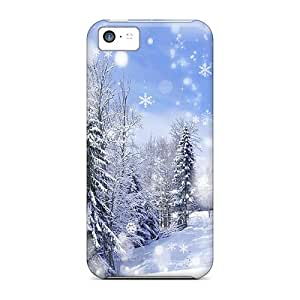 Cases Covers Snow-village/ Fashionable Cases For Iphone 5c