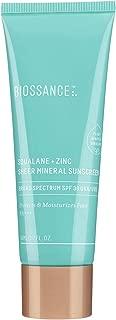 product image for Biossance Squalane + Zinc Sheer Mineral Sunscreen - Vegan, Non-Toxic Sunscreen - 100% Non-Nano Zinc SPF 30 - No Parabens - Vegan + Fragrance-Free (50 ml)
