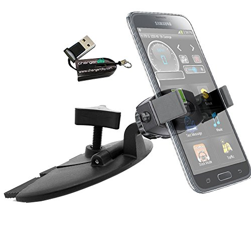 ChargerCity EasyInstall Dvd CD Slot Blade Mount for Apple ip