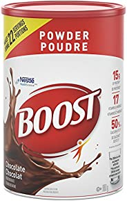 BOOST Powder- Chocolate Instant Breakfast Drink Mix, 880g canister