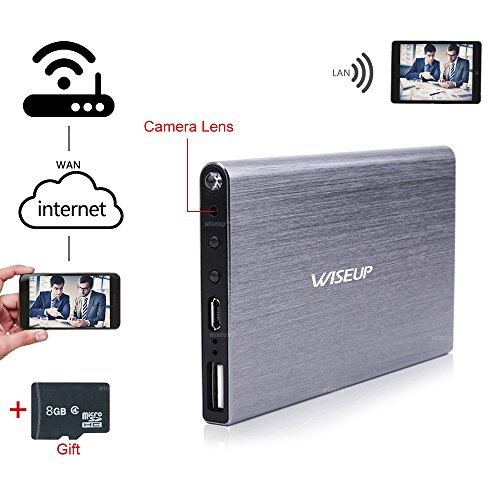 WISEUP 1920x1080P Network Recorder Camcorder