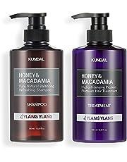 KUNDAL Honey & Macadamia Pure Natural Shampoo & Conditioner Set - Ylang Ylang