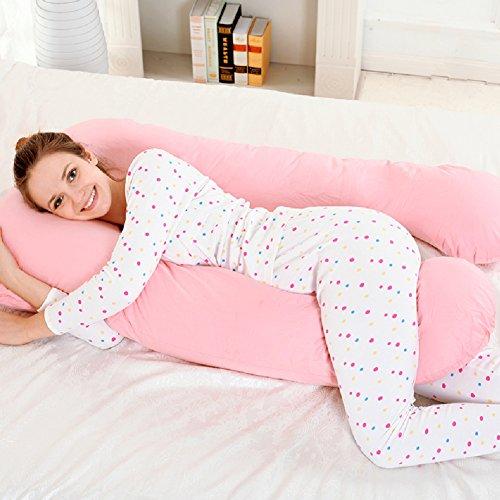 Price comparison product image HDSGFDSHGK pregnancy pillow pregnancy pillow multi-functional pillow side sleeping pillow nursing waist pillow for pregnant women u pillow-E 132x76cm(52x30inch)