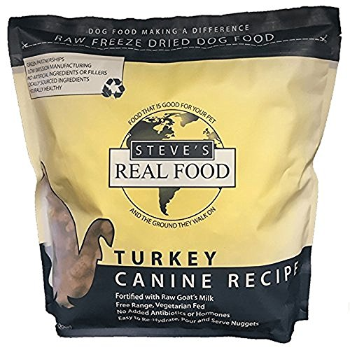 Steve's Real Food Freeze-Dried Raw Nuggets 1.25# (Turkey)