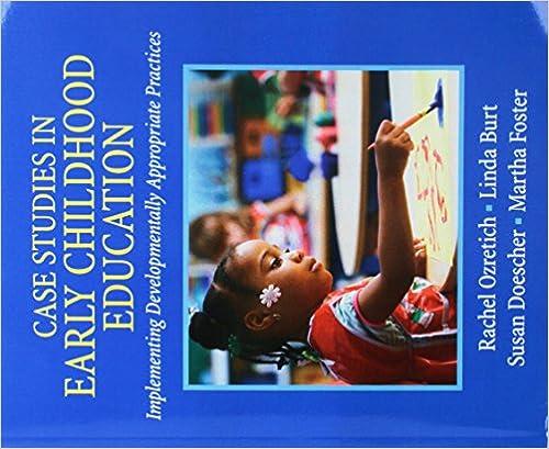 preschool case study examples