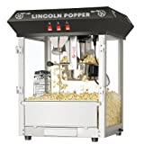 Great Northern Popcorn Black Bar Style Lincoln 8 Ounce Antique...
