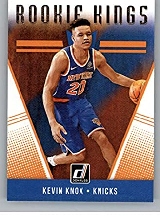 2018-19 Donruss Rookie Kings Basketball Card  22 Kevin Knox New York Knicks  Official 6fb51b262