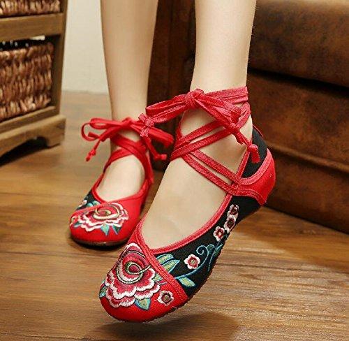 Chaussures Rouges Lazutom Pour Les Femmes ozuRfuw