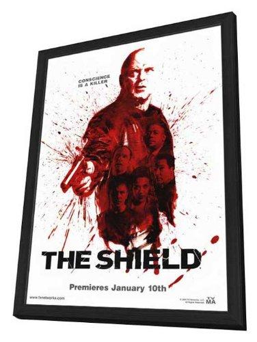 The Shield TV Framed TV Poster