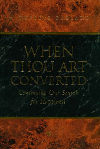 When Thou Art Converted