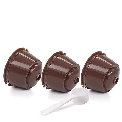 Tia-Ve rellenable Cápsulas de Café para Nescafe Dolce Gusto ...