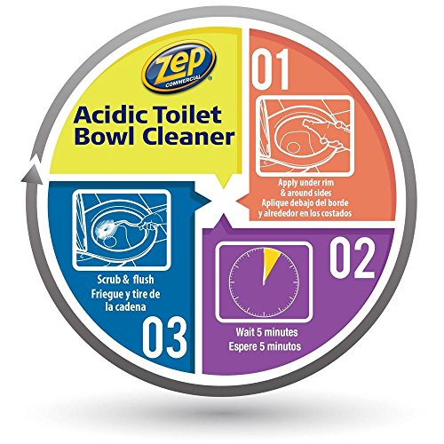 Zep Commercial Acidic Toilet Bowl Cleaner 32 Ounce Buy