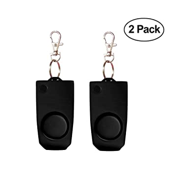 Amazon.com: Alarma de seguridad personal [2 Pack] – 130 db ...