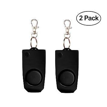 Amazon.com: Alarma de seguridad personal [2 Pack] – 130 db ...