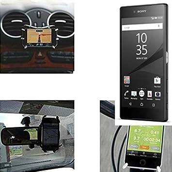 K-S-Trade Soporte para Coche y para Mesa etc. para Sony Xperia Z5 ...