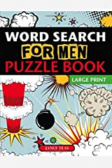 Word Search for Men Puzzle Book (Large Print) Paperback