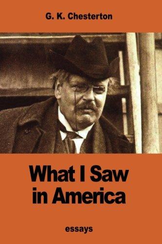 Read Online What I Saw in America pdf epub
