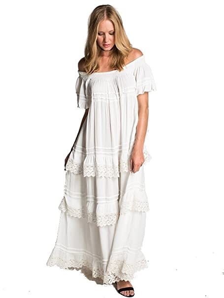53a1a27f20929 Muche et Muchette Esmeralda Long Dress: Amazon.ca: Clothing & Accessories