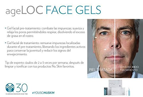 Nu Skin Galvanic Spa System™ Facial Gels with ageLOC® NuSkin