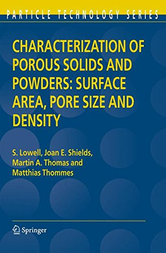 Shield Powder (Characterization of Porous Solids and Powders: Surface Area, Pore Size and Density (Particle Technology Series))
