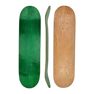 HYE-SPORT Skateboard 31 X 8 Inches Full Skateboard, 7-Layer Maple Double Kick Technique Skateboard Board Concave Design, Suitable for Beginners, Children's Gifts, Boys and Girls, Teenagers: Home & Kitchen