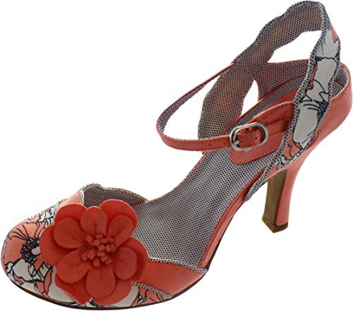 Ruby Shoo Women's Heidi Spotty Fabric Slingback Pumps Peach latest sale online outlet store cheap online sale supply 2014 newest cheap price buy cheap shop offer Y3dsuh8DS