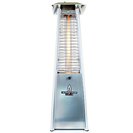 Lava Heat Italia   AMAZON 145   Patio Heater   Stainless Steel Finish    Propane