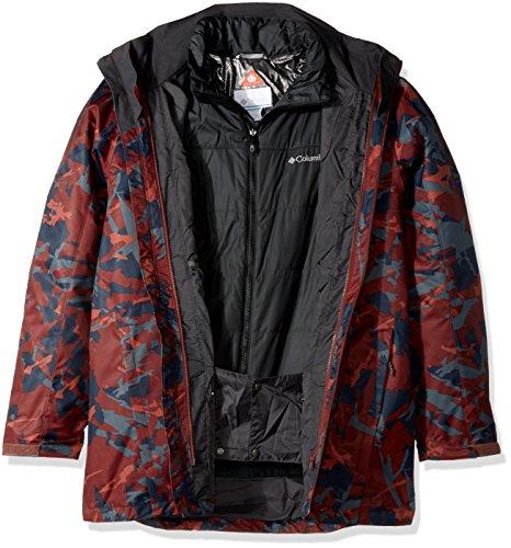 Columbia Jacket Interchange Tall Men's Whirlibird Camo Deep Rust qqCfP