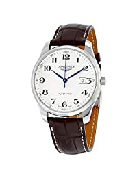 Longines Master Collection Brown Leather Automatic Mens Watch L28934783