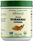 Best Naturals Certified Organic Turmeric Curcumin Powder 8.5 OZ (240 Gram), Non-GMO Project Verified & USDA Certified Organic For Sale