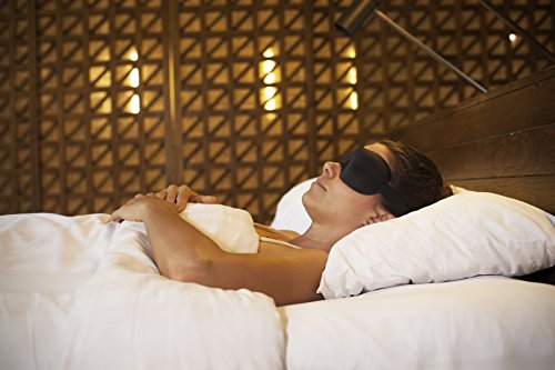 Nidra® Dreams Eye Mask – Face-Fitting Sleep Mask with Comfort Nose Piece – Contoured Shape – Sleep Anywhere, Anytime