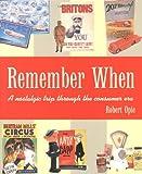 Remember When: A Nostalgic Trip Through The Consumer Era