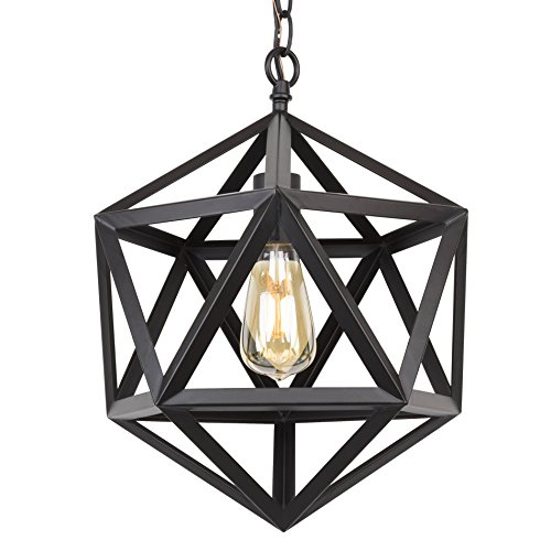 Small Iron Pendant Light - 4