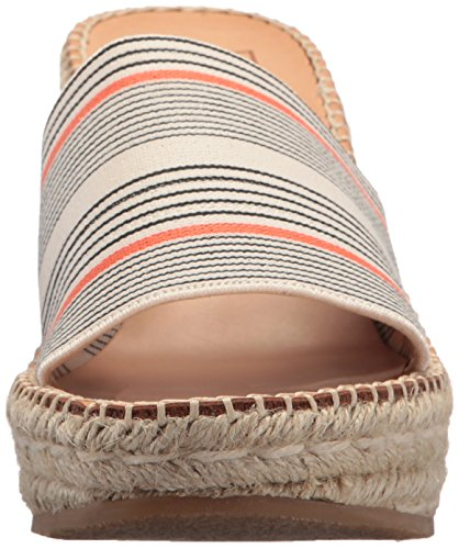 Vita Pim Kvinners Sandal Korall Stripe Dolce Kile Elastisk Espadrille d1qdwC