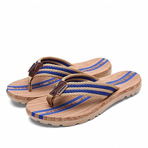 YTTY Della Eccellente Delle Di Usura Della Spiaggia Casuale Flip Marrone Impermeabili Vibrazione Delle Di Flop Coppie Sandali Di Modo Presa rSfArq