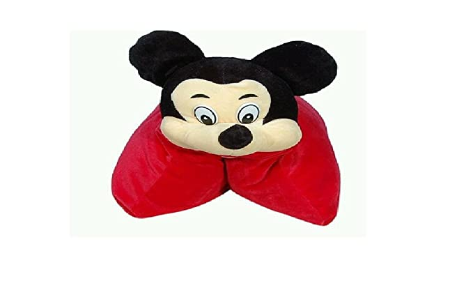 Prachi Toys Baby Cushion / Pillow for Kids with Cartoon Character (Red)