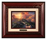 Thomas Kinkade The Cross Brushwork (Brandy Frame)