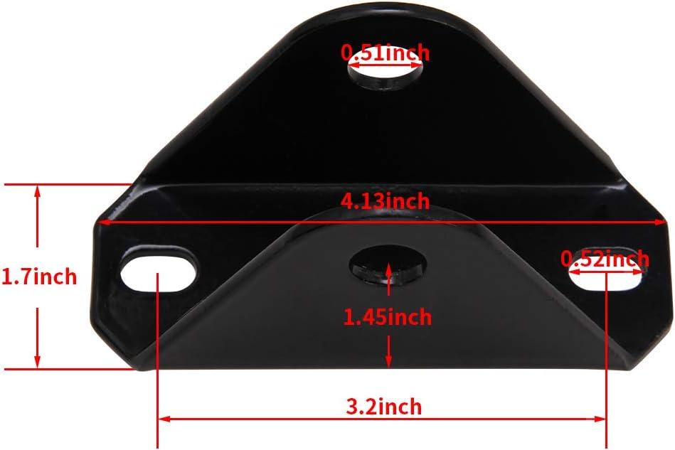 Rear Upper Shock Bar Pin Eliminator Kit Fit for TJ Wranglers XJ Cherokees