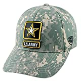 Top of the World Army Official MIL Adjustable Contention Hat Cap by 545202