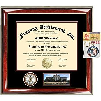 Amazon Com Redlands University Diploma Frame Premier