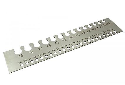 THERMO Handy Rectangular Wire Gauge/Sizer in British & Metric