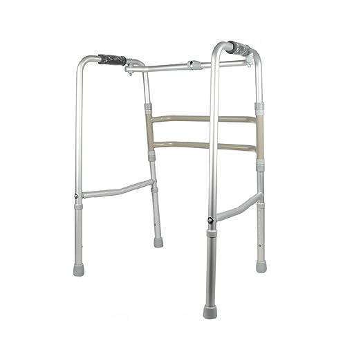 ZXQL Muletas ayudas para Caminar, Walker Plegable Anciano Mujeres ...
