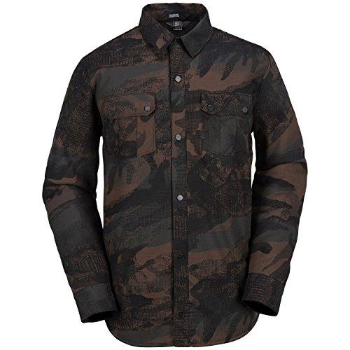 Volcom Men's Sherpa Jacket, Camouflage, M