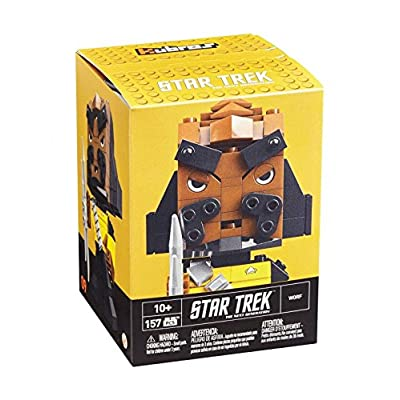 Mega Construx Kubros Star Trek Worf Building Kit: Toys & Games